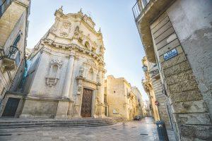 Church in Lecce, Puglia