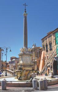 Tarquinia in Lazio, Italy