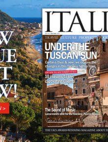 new issue of Italia magazine