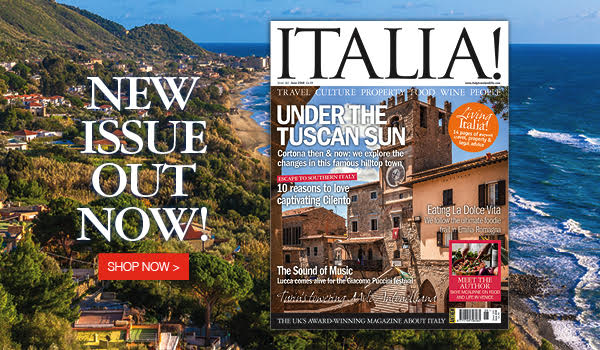 new issue of Italia magazine