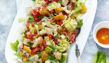 Leafy Panzanella recipe
