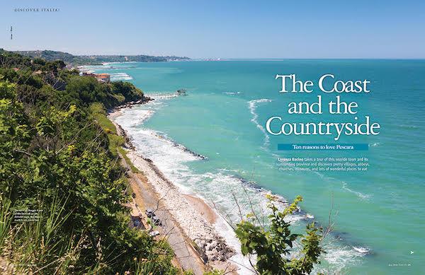 Italia magazine pescara feature