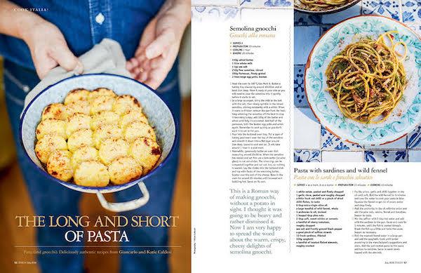 Italia magazine pasta
