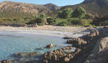 Beach at Sa Pinetta Sardinia
