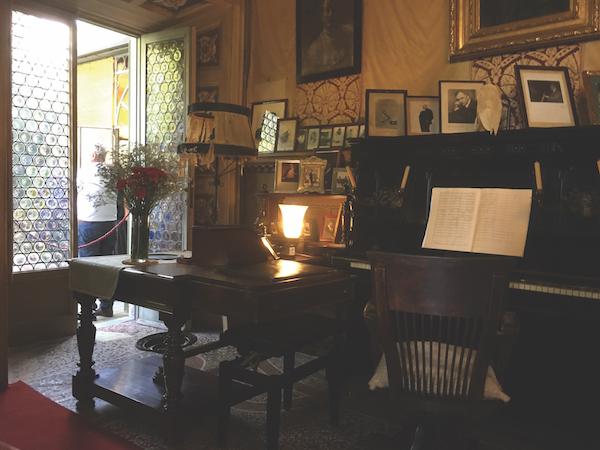 Interior Villa Puccini at Torre del Lago