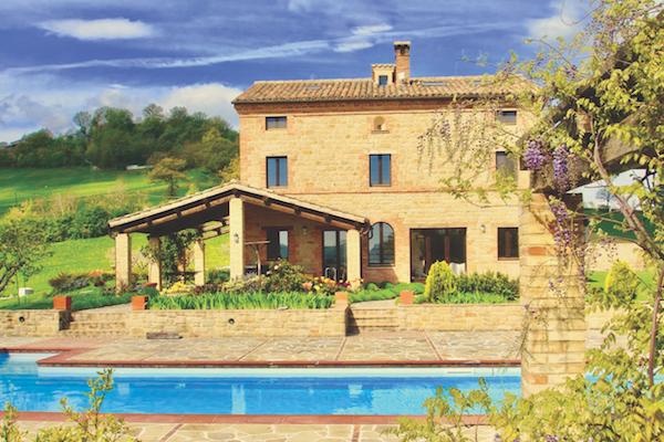 Villa Luminosa, Le Marche