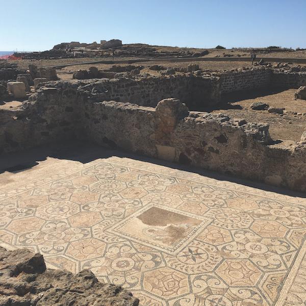 Nora mosaics, Sardinia