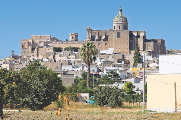 Panoramic view of Oria. Puglia. Italy.
