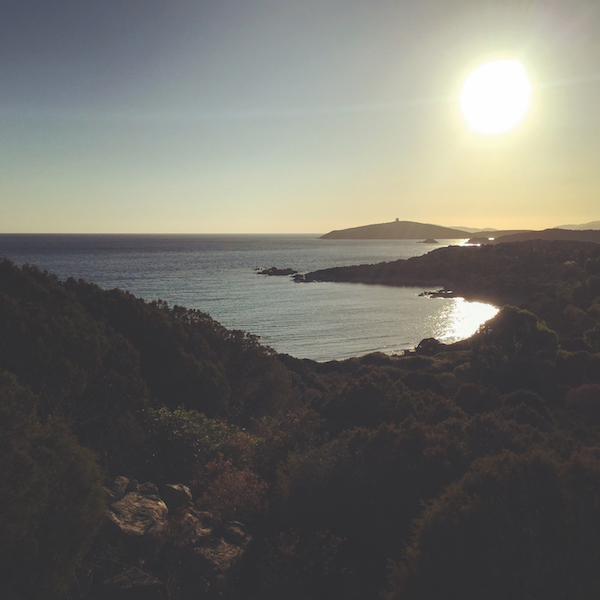Sunset of Sa Pinetta, Sardinia