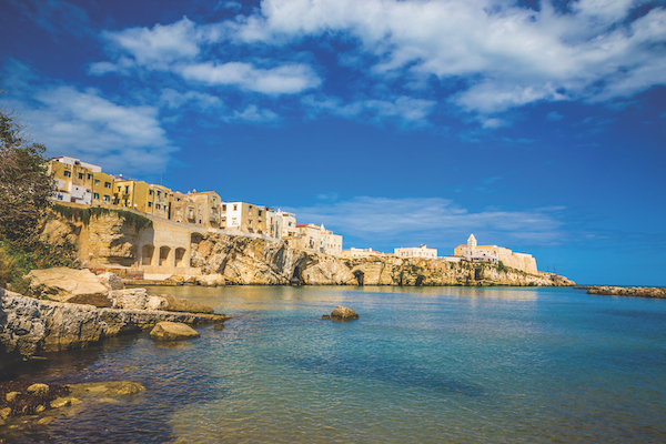 Old Town Of Vieste, Gargano Peninsula, Apulia region, Italy, Europe