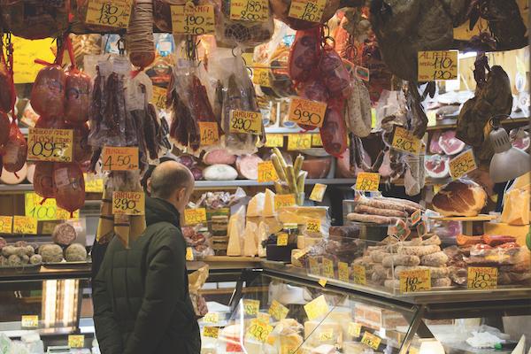 Food in Emilia Romagna, Italy