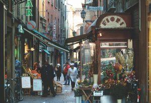 Bologna, Italy, Mercato di Mezzo