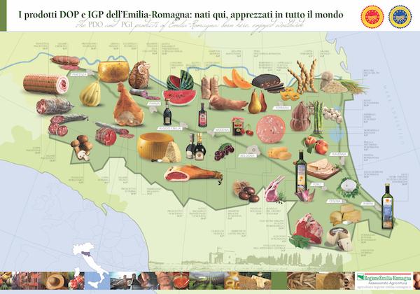 Emilia-Romagna local produce