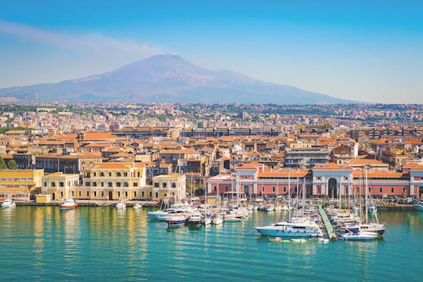 Catania, Sicily, Italy, volcano Etna