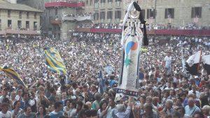 Palio flag Siena