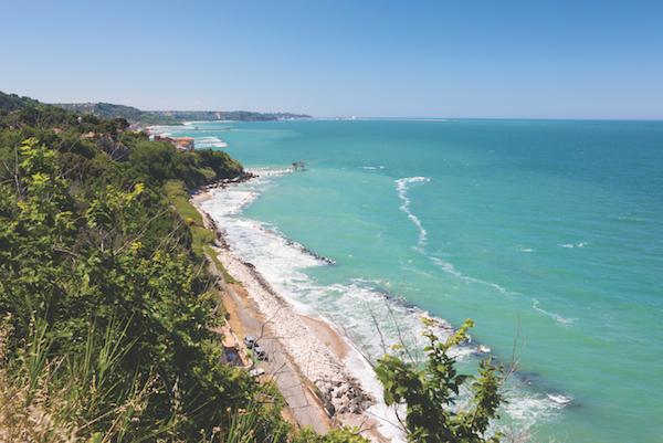 The Trabocchi Coast on the Adriatic coast, Abruzzi Italy