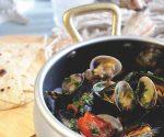 Mussel and clam antipasto recipe