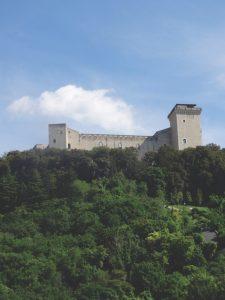 La Rocca Albornoziana, Spoleto Italy