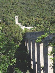 Ponte delle Torri and Monteluco, Spoleto