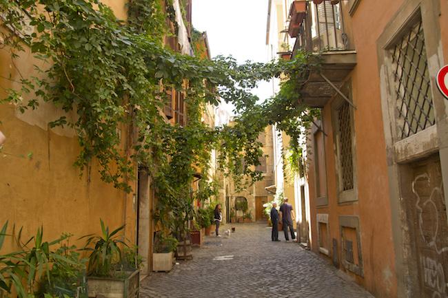 Via della Lungaretta, Trastevere, Roma, Lazio, Italia