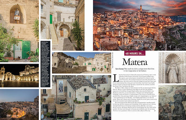 Matera italy in issue 166 of Italia magazine