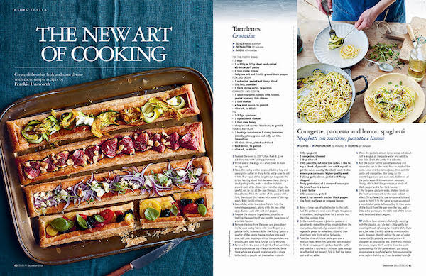 Italian recipe issue 166 Italia magazine