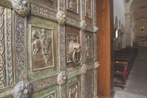 Broze doors duomo Ravello