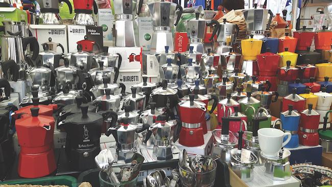Coffee pots Rome