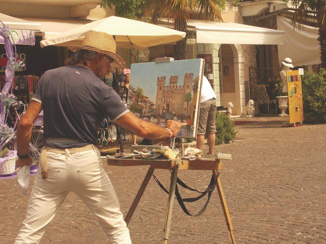 Artist Sirmione, Lake Garda