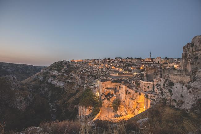 Early morning Matera Italy
