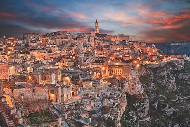 Matera, Basilicata, Italy (sassi di Matera)