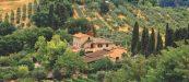 Tuscany farmhouse, Italy