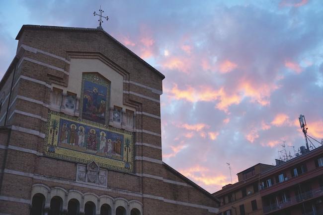 Chiesa di Santa Maria Liberatrice, Testaccio