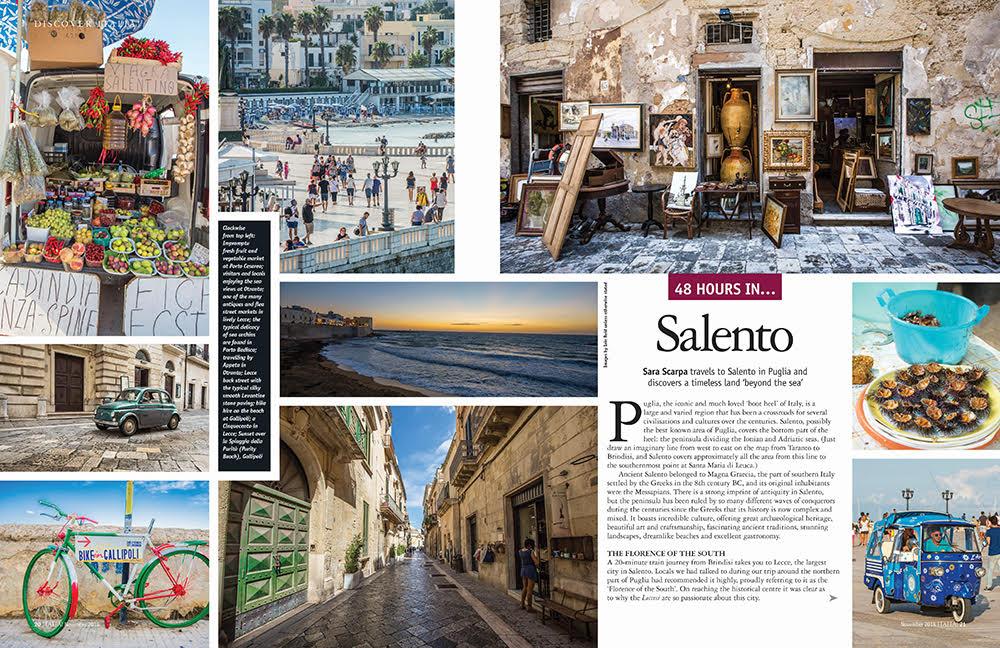 Italia! issue 168 Salento in Puglia feature