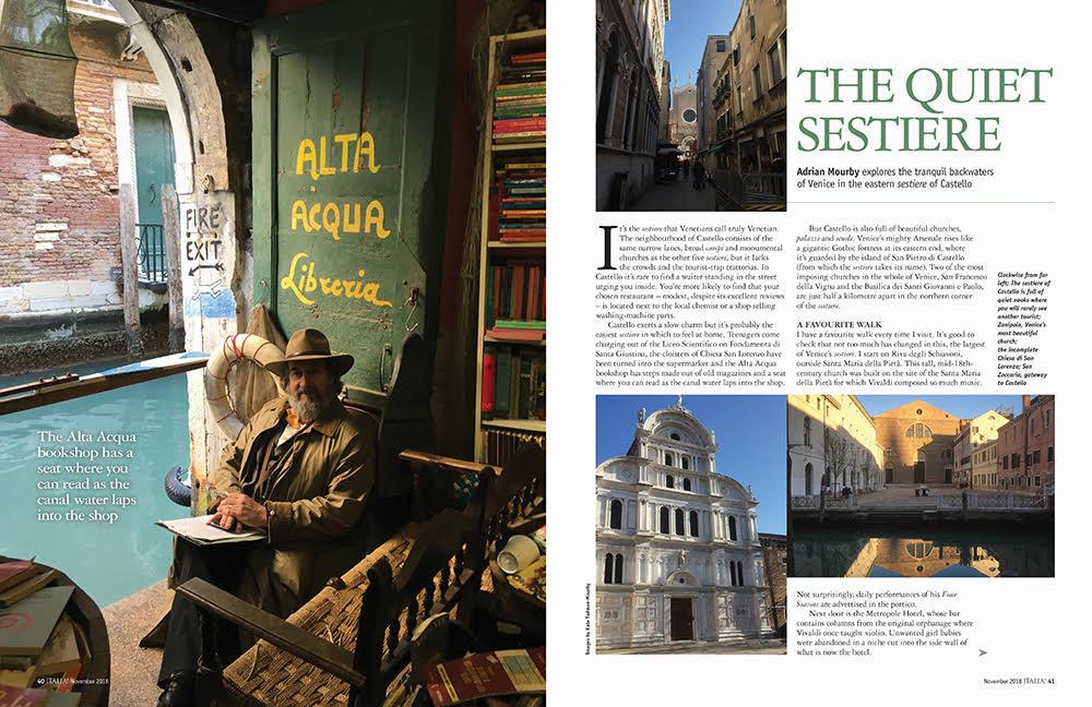 Italia! issue 168 Castello district in Venice