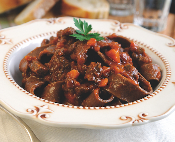 Pappardelle with wild boar ragu