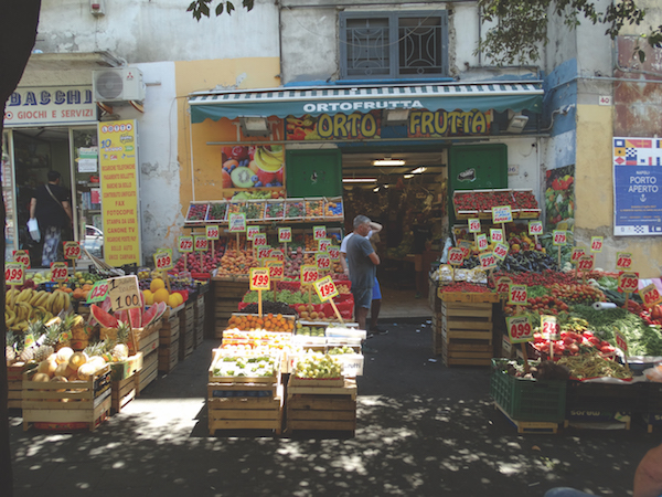 Naples fruit stand, Italy