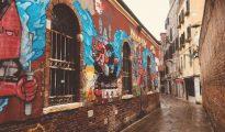 Graffiti near San Francesco della Vigna, Venice