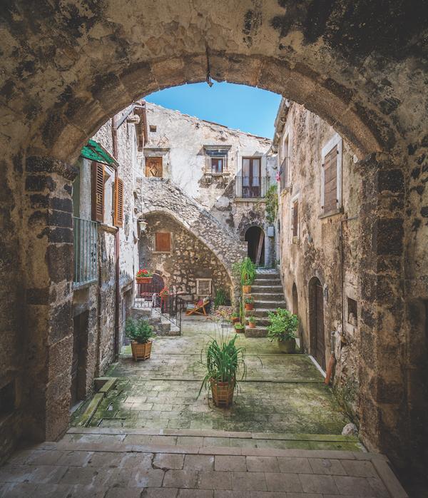 Santo Stefano di Sessanio, L'Aquila Province, Abruzzo (Italy)