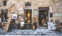 Street market, Lecce, Puglia