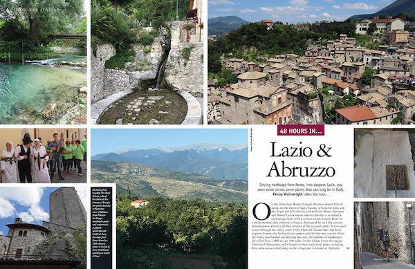48 Hours in Lazio and Abruzzo, Italy