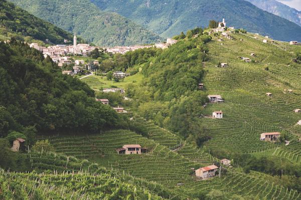 Combai near Treviso, Italy