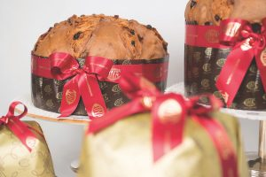 Panettone at Cova, Milan, Italy