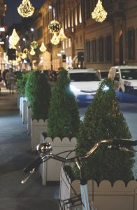 Christmas decorations, Milan
