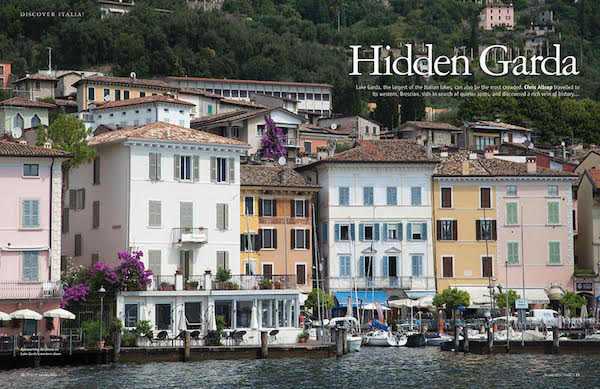 Italia! magazine 170 Lake Garda feature