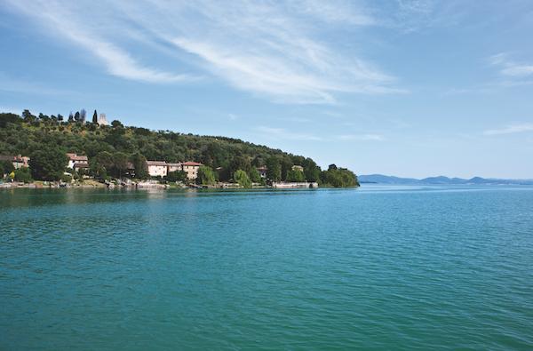 Italy, Umbria, Trasimeno Lake,the Maggiore island