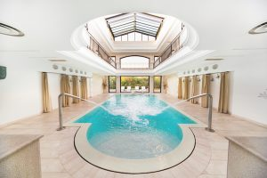 indoor sea water pool, Puglia, Italy
