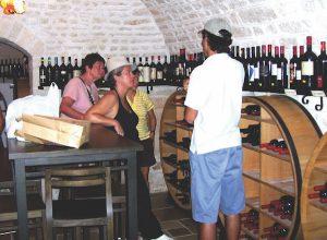 Wine in Puglia, Italy