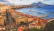 Bay of Naples view from Posillipo Hill