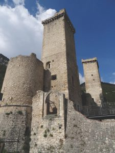 Caldora Castle, Pacentro, Italy